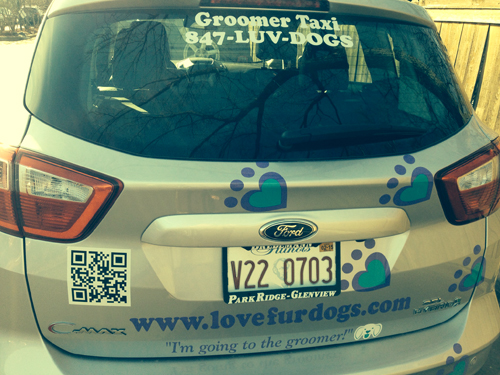 I'm Going To The Groomer - The Love Fur Dogs Pet Taxi